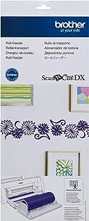 Brother ScanNCut DX 乙烯基辊式喂食器 CADXRF1,无垫切割,适用于墙贴和大贴纸,包括底座附件、支架和修剪器