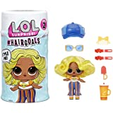 L.O.L. Surprise! Hairgoals, 惊喜娃娃带可刷毛发和 15 个惊喜,有趣的变色效果和时尚配饰,H…