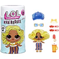LOL 惊喜 #Hairgoals 系列 2 娃娃,带真发和 15 个惊喜,配饰,惊喜玩偶