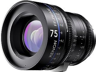 Schneider十字架 1078476 Cine 镜头 FF-Prime T2.1/75 毫米,Canon/m 黑色