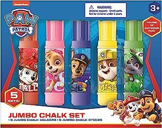 Innovative Designs Nickelodeon 狗狗巡逻队儿童户外人行道粉笔巨型粉笔套装带支架