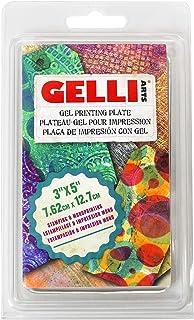 Gelli Arts 5 x 5 英寸学生胶质印刷板 多色 3 x 5-inch GL3x5