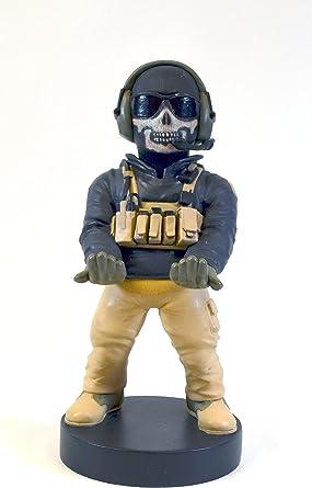 可收藏的 Call of Duty Ghost Cable Guy 设备支架 - 适用于 PlayStation 和 Xbox 控制器和所有智能手机 - Simon Riley - 不适合机器*