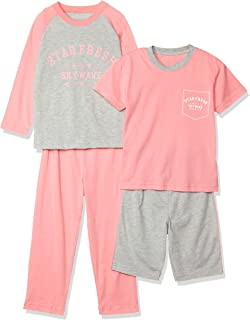 Cecile 睡衣 儿童4件套 家居服 睡裙 上下套装 NC-839
