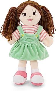 手偶 - 柔软毛绒手偶 适合女孩和男孩 - 儿童木偶玩具 - 女孩木偶 - 木偶剧院木偶 - 女孩手偶 - 木偶表演玩具女孩