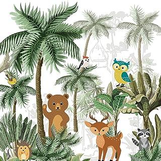 Plage 全景壁纸 250 森林动物,*,2.5 x 2.5 米