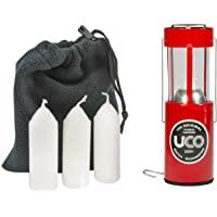 UCO Original 蜡烛灯超值装,带 3 支蜡烛和储物袋