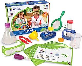 Learning Resources 初级科学实验室活动套装,22件,适合3岁以上的人群