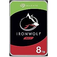 SEAGATE 希捷 IronWolf 8TB NAS 内置硬盘HDD – 3.5英寸(约8.89厘米)SATA 6Gb…