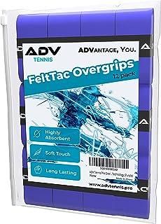 ADV 网球 PRO 吸汗带 | 12个装 | 保持干燥和舒适带 Just enough Tack | 独家 felttac SPIN 布材质