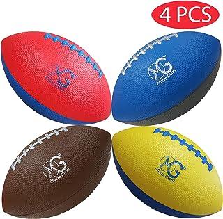 Macro Giant 9 英寸*迷你软泡沫足球,4 件套,训练,练习,游乐场球,儿童运动玩具,后院,海滩,学校游乐场,儿童玩具,初学者