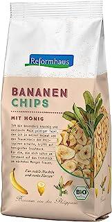 Reformhaus Bananen-Chips gesüßt, 6er Pack (6 x 175 g)