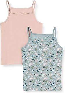 NAME IT 女童吊带衫/ami 衬衫(2件装)