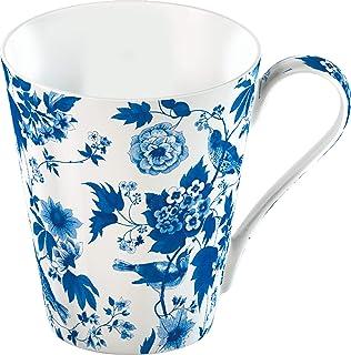 CREATIVE TOPS V&A Garden Birds 杯子,高级瓷器,450毫升(16 FL 盎司),骨瓷