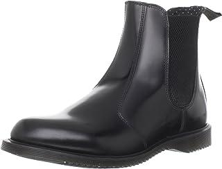 女式 Flora Leather Chelsea 靴子