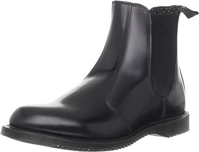 Dr.Martens 女式皮革光面切尔西靴 经典踝靴