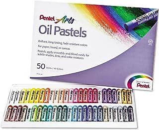 Pentel 彩蜡笔套装,45 色套装,50 支装 (PENPHN50)