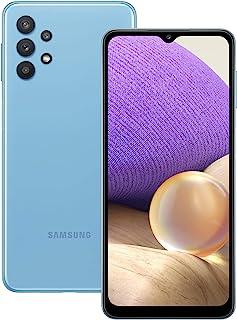 三星 Galaxy A32,5G SIM Android 智能手机 - 超棒的蓝色(英国版)