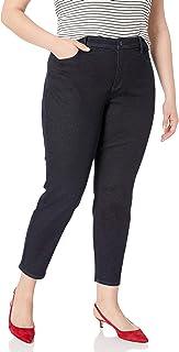 NYDJ 女士加大码紧身九分牛仔裤