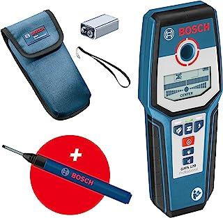 Bosch 博世 专业数字定位设备 GMS 120 (钻孔标记,*大检测深度木/铁金属/非铁金属/电压导向线:38/120/80/50 毫米)