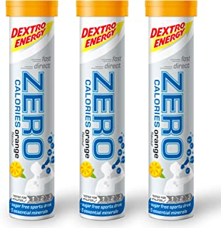 Dextro Energy Zero Calorie I Recovery and Hydration Drink I Zero Effervescent 片剂