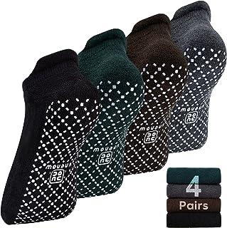 unenow 中性款防滑袜,带垫子,适用于瑜伽、普拉提、杠杆、家庭和*