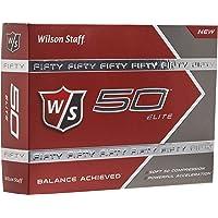 Wilson Staff Fifty Elite Golf Balls, Dozen Slide Pack