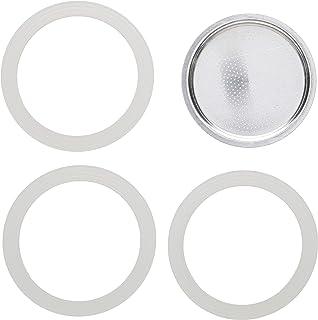Bialetti 9杯用 备用密封条 替换垫片 贴纸 过滤器 橡胶