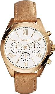 Fossil 女式现代 Courier 不锈钢计时石英手表