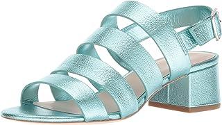 Loeffler Randall 女士 Mavis(油脂羊皮)高跟凉鞋