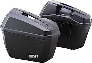 GIVI 摩托车用 侧袋 各22L 未涂装 黑色 左右套装 E22N 90668