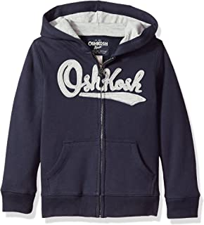 Osh Kosh Big Boys' Full Zip Logo Hoodie