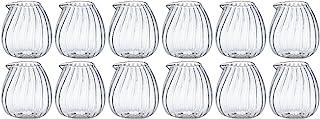 ADERIA 玻璃牛奶罐 15ml 豆子 蛋 12个装 F-37416