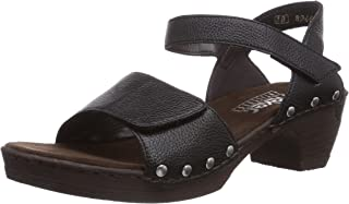 Rieker 66863,女式坡跟高跟凉鞋