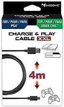 Subsonic Micro-USB 数据线 XXL,4米,适用于 PS4 和 Xbox One 控制器