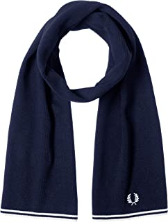 FRED PERRY 围巾 TWIN TIPPED MERINO WOOL SCARF C9152