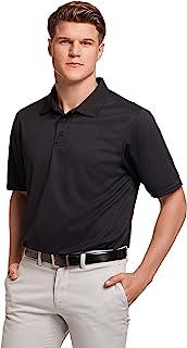 russell athletic 男式 dri-power 性能高尔夫 POLO 衫