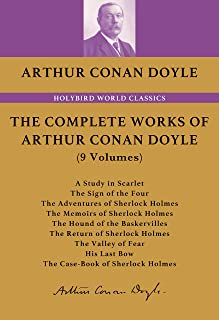The Complete Sherlock Holmes: 夏洛克•福尔摩斯全集(英文朗读版)(共9卷) (English Edition)