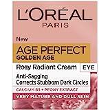 L'Oreal Paris 巴黎欧莱雅 Golden Age Rosy Glow 金致臻颜系列 牡丹紧致眼霜,15毫升