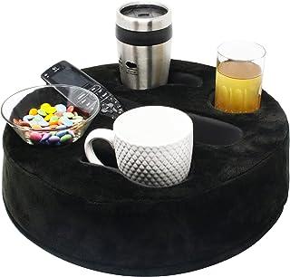 MOOKUNDY - 推出 Sofa Buddy - 方便的沙发杯架、沙发架、沙发杯托、沙发杯架。 完美的沙发配件 Black Fabric Cushion