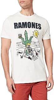 Springfield 男式 Camiseta Ramones 汗衫