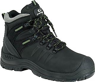 """Ejendals 7298-37 尺寸 37""""Graninge 7298"""" *靴 - 黑色/绿色"""