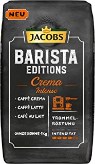 Jacobs Barista Editions Crema咖啡 咖啡师版 浓烈 全豆 1kg