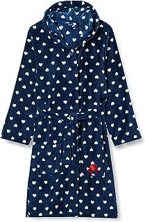 Playshoes 儿童羊毛浴衣 心形浴袍 带帽