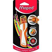 Maped 荧光滚轮荧光笔 - 橙色,746325