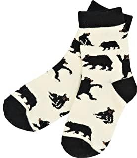 Hatley 男童小熊自然太阳短袜