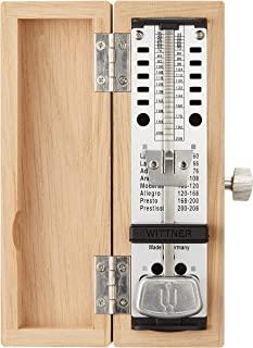 Witener 节拍器 超迷你 木制 橡木款式 No.880250