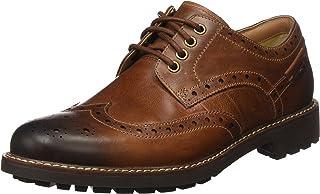 Clarks montacute WING lace-ups 男式生活休闲鞋