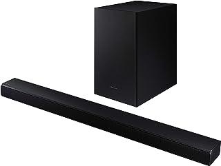 Soundbar 三星 HW-T550 – Soundbar 320 W,2.1 Ch,无线低音炮,杜比数字2.1,DTS Virtual:X,游戏模式,蓝牙 4.2 多连接和一个远程控制