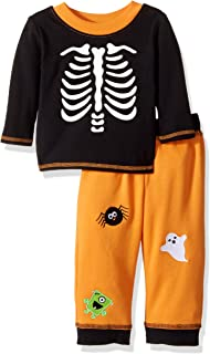 Bonnie Baby Baby Boys' Halloween Knit Appliqued Pant Set